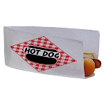 Open Top Hot Dog Bag 1000