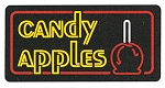 Candy Apples Lighted Sign