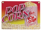 Heavy Duty Popcorn Sign