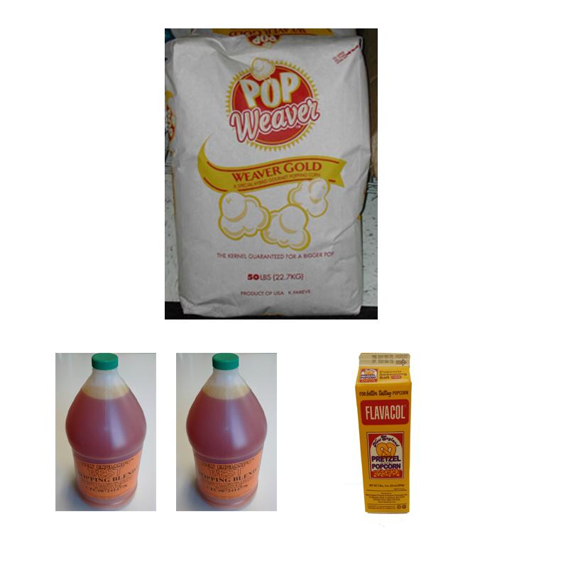 Measurements For Popcornoil Salt