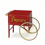 12oz Cart Two Wheel Popcorn