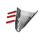 Left Handed Perforated Jet Scoop