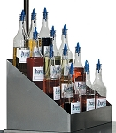 Tiered Bottle Rack Shave Ice Flavor