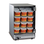 Compact Portion Pak Cheese Warmer