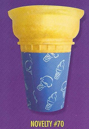 CAKE CONE #70 JACKETED 600/CS