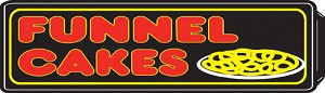 Funnel Cake Lighted Sign