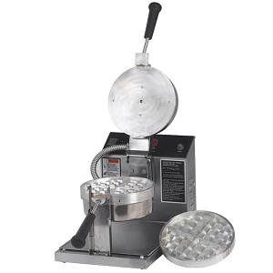 Removable Round Grid Belgian Waffle Baker Electric