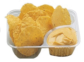 Nacho Tray Two Compartment