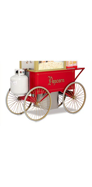 Gas Cart Four Wheel Popcorn  w/Battery kit for 5908GGT