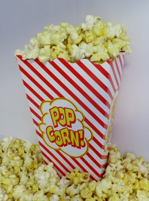 1oz  SCOOP BOX POPCORN (500) 44V