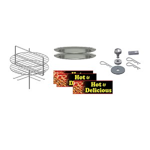 Combo Pretzel/Pizza Rack for 5551